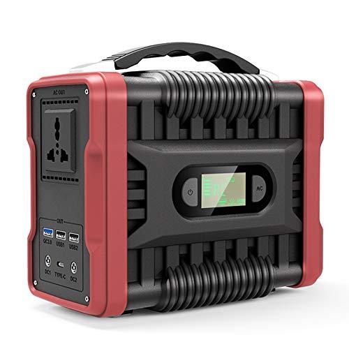 TGHY Accumulatore Energia Portatile da 222Wh Generatore Solare da 60000mAh Uscita AC DC USB QC 3.0 Type-C Alimentatore di Backup da 200W per CP.AP Esterno Campeggio Viaggio,110v