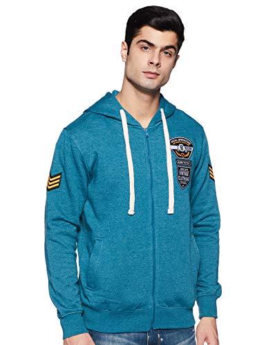 Amazon Brand – Inkast Denim Co. Men Hooded Sweatshirt