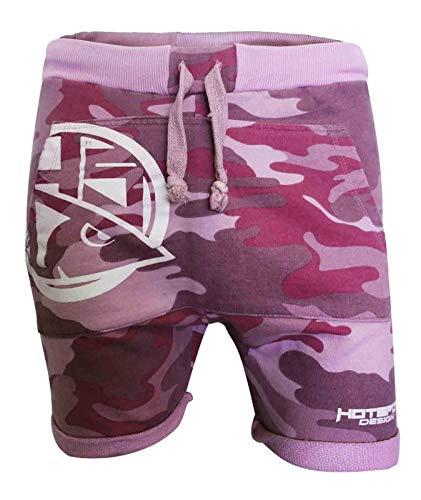 HOTSPOT DESIGN HSD Pink Camo Sweatshort, Shorts, Camouflage Rosa, Gr. L, Regular Fit, SH0106004L