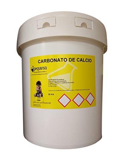 Carbonato cálcico. Envase 20 kg.