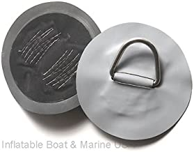 Inflatable Boat D-Ring Pad/Patch – Hypalon Gray 6