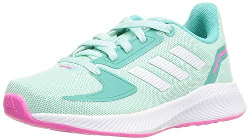 adidas RUNFALCON 2.0 K, Zapatillas de Running, MENCLA/FTWBLA/MENACI, 38 EU