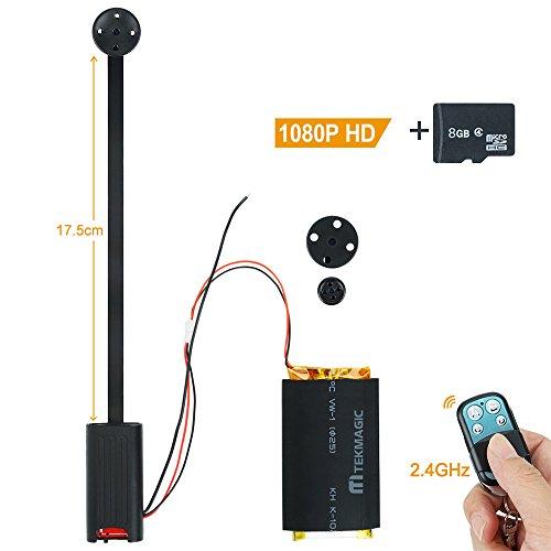 TEKMAGIC 8GB 1920x1080P HD Klein Taste Abdeckung Versteckte Kamera Camcorder DVR Unterstützung Bewegungserkennung