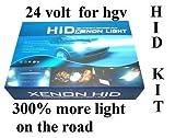 Xenon-HID-Umrüstsatz H7 6000 K für LKW 24 V ab...
