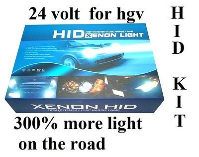 Xenon-HID-Umrüstsatz H11, 6000 K, 55 W, für LKW 24 V, von Sunlight2012