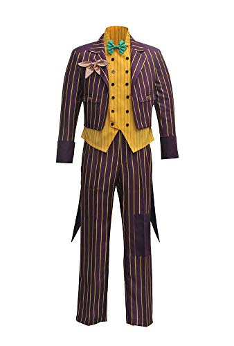VOSTE Costume Halloween Cosplay Party Outfit Suit for Men