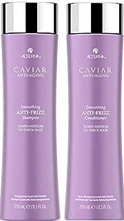 CAVIAR Anti-Aging Anti-Frizz Shampoo and Conditioner Set, 8.5-Ounce