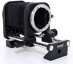 Zykkor Macro Bellows for Nikon F AF SLR DSLR Camera,Nikon Cameras, Nikon D1, D2, D3, D3x, D3s, D100, D200, D300, D300s, D700, D40, D40x, D50, D60, D70, D70s, D80, D90, D3000, D3100, D5000, D7000