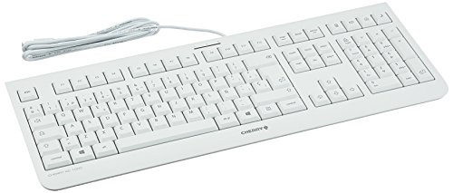 CHERRY KC 1000 JK-0800ES-0- Teclado, color blanco, QWERTY España