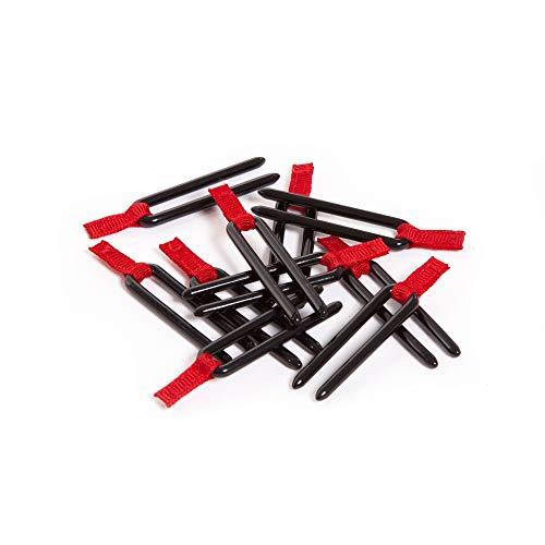 Peli Ersatzstifte für TrekPak Trennwandset, Original Peli Koffer Zubehör, Kompatibel mit: Schwarz, Grau, Passend für alle TrekPak Einteilungssysteme, 014850-3410-000E
