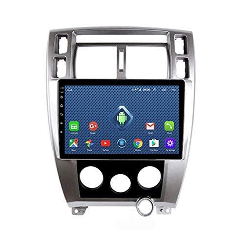 Reproductor MP5 estéreo para automóvil, Pantalla táctil de 9 Pulgadas Compatible con Bluetooth WiFi USB SWC/Mirrorlink / OBD2 / Dab + / Radio FM, para Hyundai Tucson 2006-2013 con cámara Trasera