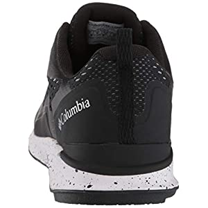 Columbia Women's Vitesse Hiking Shoe, Black/Pure Silver, 8.5