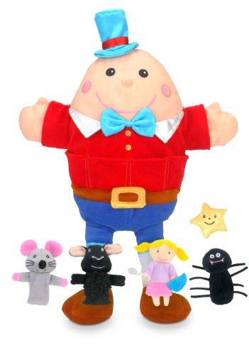 Fiesta Crafts-T-2735 T-2735 Ensemble de Marionnettes à Main et Doigts pour Enfant, Divers