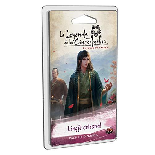 Fantasy Flight Games- Leyenda de los Cinco Anillos LCG - Linaje celestial, Color (L5C22ES) , color/modelo surtido