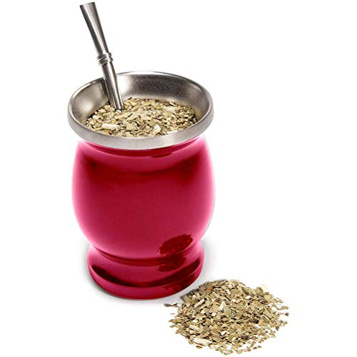 Congci Double vacuum cup, double stainless steel tea cup, yerba mate pumpkin cup stainless steel tea cup vacuum cup