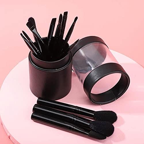 Soporte de contenedor Comestic Soporte de almacenamiento de brochas de maquillaje Práctico para viajes con 12 pinceles de maquillaje(#2)