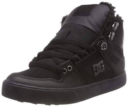 DC Shoes Herren Pure HIGH TOP WC Winter Skateboardschuhe, Schwarz (Black 3bk), 43 EU
