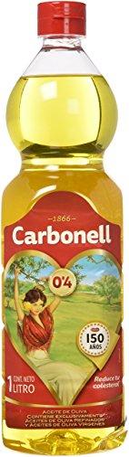 CARBONELL aceite de oliva suave botella 1 lt