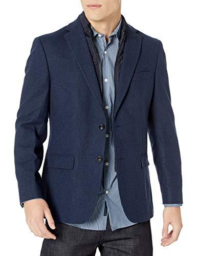 Tommy Hilfiger Men's Classic Heritage Blazer, Navy, 38L