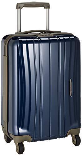 [プロテカ] スーツケース 日本製 フラクティ5 サイレントキャスター 機内持ち込み可 35L 2.7kg コズミックネイビー