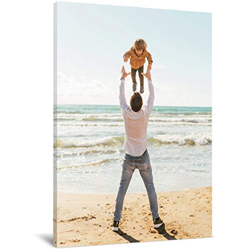 """wallart777 Create Personalized Wall Art with Your Photo on Canvas - Custom Canvas Prints for Family - Personalized Canvas Pictures for Wall to Print Framed (8"""" X 10"""")"""