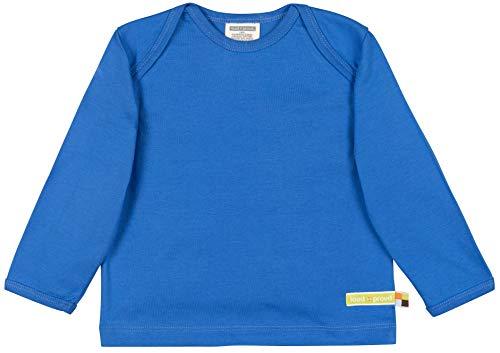 loud + proud Kinder-Unisex Shirt Uni Aus Bio Baumwolle, GOTS Zertifiziert Sweatshirt, Blau (Cobalt Cob), 68 (Herstellergröße: 62/68)