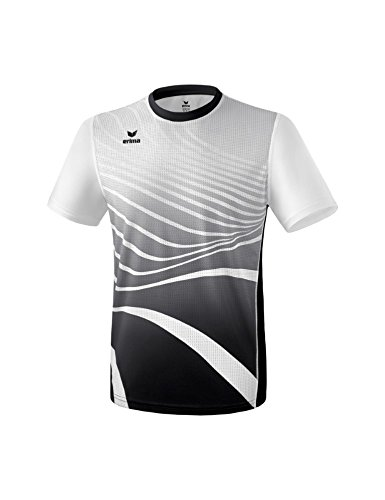 Erima Herren T-Shirt, schwarz/Weiß, XXL