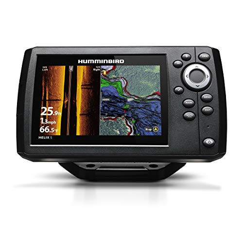 Humminbird 410230-1 HELIX 5 CHIRP SI GPS G2 Fish Finder, Black