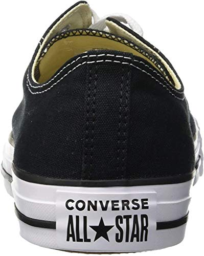 Converse Chuck Taylor All Star Seasonal Colors Ox Unisex (44 M EU / 12 B(M) US Women / 10 D(M) US Men, Black)