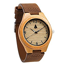 This image shows the Treehut Bamboo Watch that was part of my wooden watch review
