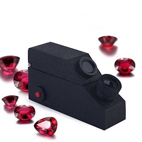 Gemological Gemstone Gem Refractometer Built-in Light, 1.80 RI Oil, Gemological. GIA Tools