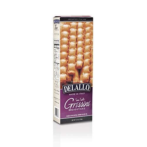 DeLallo Grissini Breadsticks 4.4 oz (Pack of 3)
