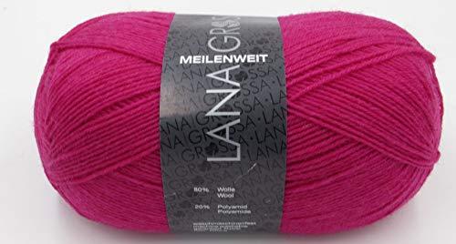 Meilenweit Uni 4-fach Farbwahl Lana Grossa, 1368, 100gr