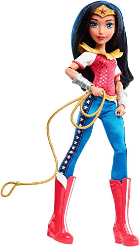 Mattel DLT62 - DC Super Hero Girls Wonder Woman Action Puppe, 30 cm