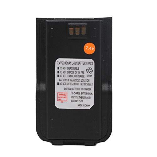 MD380 2200mAh Li-ion Battery Pack Compatible for TYT Tytera DMR MD-380 MD-380GPS MD-380V MD-380U MD-446 Retevis RT3 Digital Two Way Radio Walkie Talkie Ham Transceiver