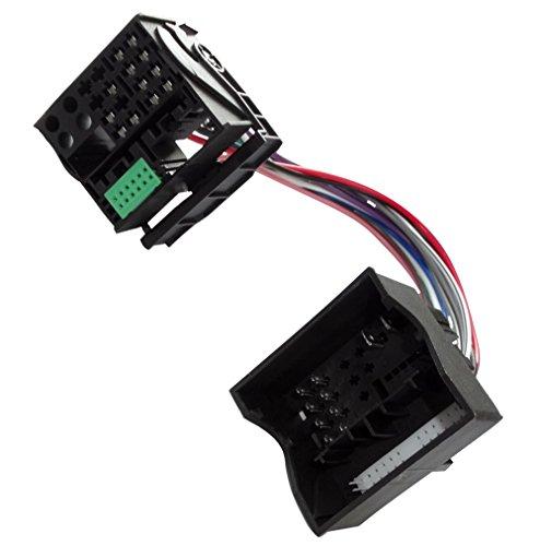 Aerzetix: Adapter Quadlock 40 pin stekker - Quadlock 52 pin bus voor RNS315 RNS510 met MIB MQB C40111