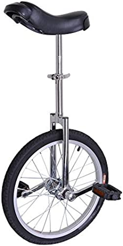 AW Silber 18 Inch Wheel Unicycle Leakproof Butyl Tire Wheel Cycling Outdoor Sports Fitness Exercise Health by AW
