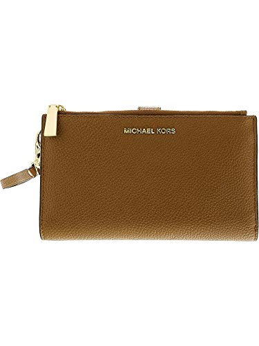 """leather with nylon lining removable-strap with strap drop of 4.50"""" snap Closure Dimensions: 7.30""""W x 4.30""""H x 1.10""""D"""