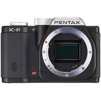 Pentax K-01 16MP APS-C CMOS Mirrorless Digital Camera [Body] (Black)