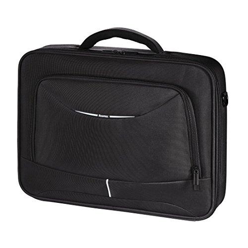 Hama Notebook-Tasche Syscase (Tasche für Laptop / Notebook, Notebooktasche geeignet für Computer bis 15,6 Zoll / 40 cm Bildschirmdiagonale, Laptoptasche) schwarz