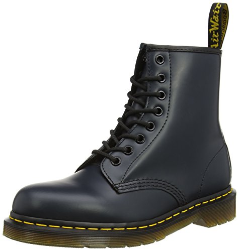Dr. Martens 1460 Smooth, Stivali Unisex – Adulto, Blu (1460 Smooth 59 Last Navy), 39 EU