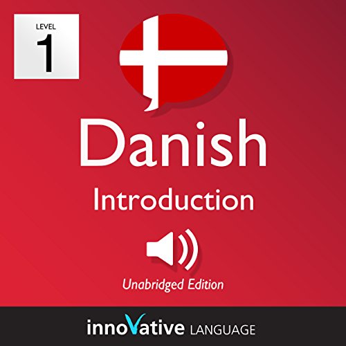 Learn Danish - Level 1: Introduction to Danish audiobook cover art