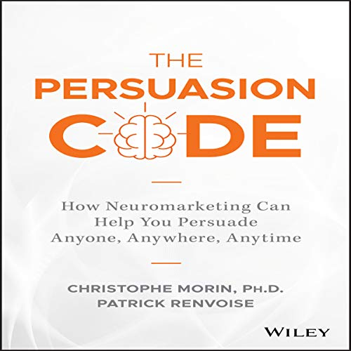 The Persuasion Code audiobook cover art