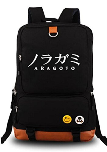 Siawasey Anime Noragami Cosplay Rucksack Daypack Bookbag Laptop Schultasche
