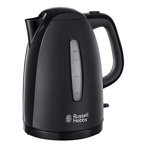 Russell Hobbs 21271 Textures Kettle, 1.7 L, 3000 W - Black by Russell Hobbs