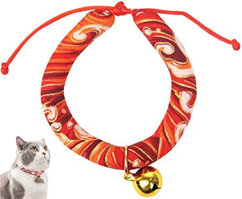 DHGTEP Collar del Gato con la Campana, Cachorro Comodidad PP Collar de Perro de la Cadena de Accesorios para Mascotas (Color : E, Size : XS)