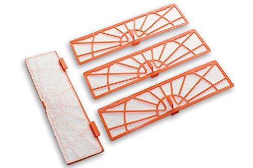 vhbw filtre de remplacement lot de 4 pièces Neato Botvac D3, D5