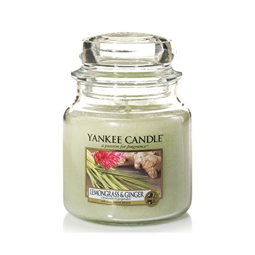 Yankee Candle Yankee candle glaskerze mittel lemongrass and ginger