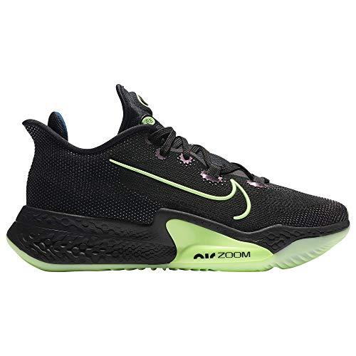Nike AIR Zoom BB NXT - Hombre, (Negro/Valerian Blue/Lime Blast), 44.5 EU