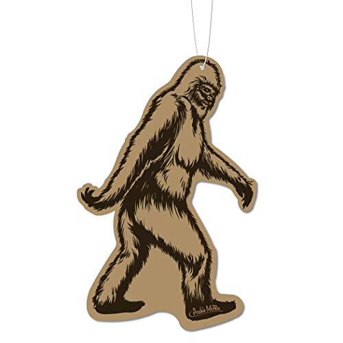 Bigfoot car air freshener funny stocking stuffer ideas for adults